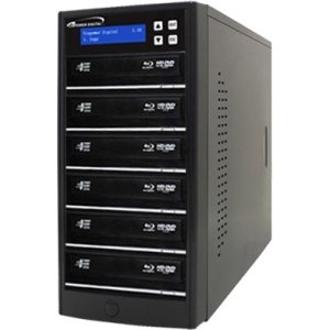 Vinpower Digital ECON-S6T-BD-BK Econ Series SATA Blu-Ray/DVD/CD Tower Duplicator