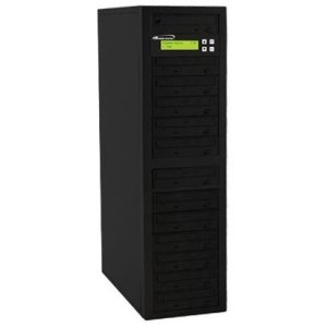Vinpower Digital ECON-S12T-BD-BK Econ Series SATA Blu-Ray/DVD/CD Tower Duplicator