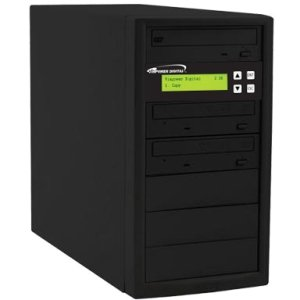 Vinpower Digital ECON-S2T-DVD-BK Econ Series SATA DVD/CD Tower Duplicator