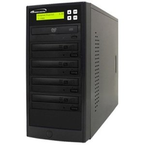 Vinpower Digital ECON-S4T-DVD-BK Econ Series SATA DVD/CD Tower Duplicator