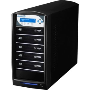 Vinpower Digital SHARKBLU-S5T-BK SharkBlu SATA Blu-ray/DVD/CD Tower Duplicator - 12x