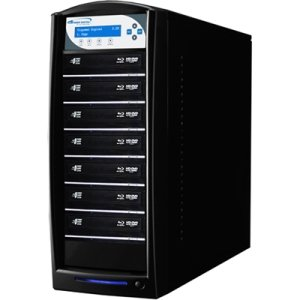 Vinpower Digital SHARKBLU-S7T-BK SharkBlu SATA Blu-ray/DVD/CD Tower Duplicator - 12x