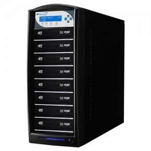 Vinpower Digital SHARKBLU-S8T-BK SharkBlu SATA Blu-ray/DVD/CD Tower Duplicator - 12x