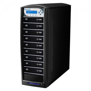 Vinpower Digital SHARKBLU-S9T-BK SharkBlu SATA Blu-ray/DVD/CD Tower Duplicator - 12x