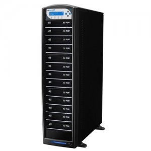 Vinpower Digital SHARKBLU-S13T-BK SharkBlu SATA Blu-ray/DVD/CD Tower Duplicator - 12x