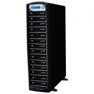 Vinpower Digital SHARKBLU-S14T-BK SharkBlu SATA Blu-ray/DVD/CD Tower Duplicator - 12x