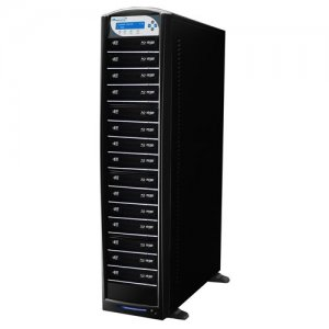 Vinpower Digital SHARKBLU-S15T-BK SharkBlu SATA Blu-ray/DVD/CD Tower Duplicator - 12x