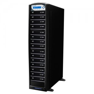 Vinpower Digital SHARKBLU-S15T-DC-BK SharkBlu Daisy Chain Blu-ray / DVD / CD Duplicator