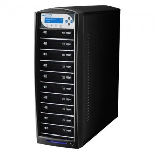 Vinpower Digital SHARKNET-10T-BD-BK SharkNet Blu-ray / DVD / CD Network Duplicator