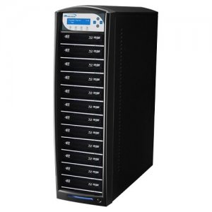 Vinpower Digital SHARKNET-12T-BD-BK SharkNet Blu-ray / DVD / CD Network Duplicator