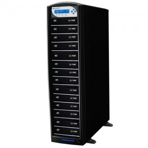 Vinpower Digital SHARKNET-14T-BD-BK SharkNet Blu-ray / DVD / CD Network Duplicator