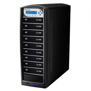 Vinpower Digital SHARKNET-9T-BD-BK SharkNet Blu-ray / DVD / CD Network Duplicator