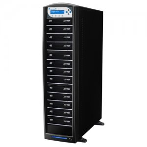 Vinpower Digital SHARKBLU-S13T-XL-BK SharkBlu SATA BDXL Blu-ray/DVD/CD Tower Duplicator