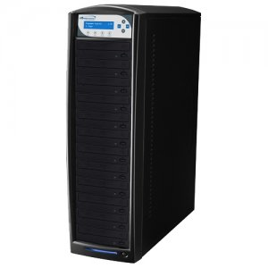 Vinpower Digital BD-PIO-12-BK SharkBlu SATA Blu-ray/DVD/CD Tower Duplicator - Pioneer 12x