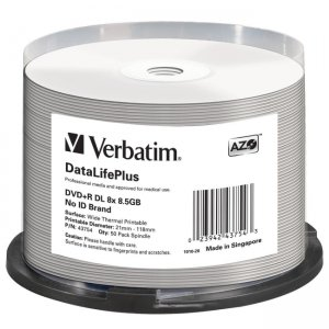 Verbatim 43754 DataLifePlus DVD Recordable Media