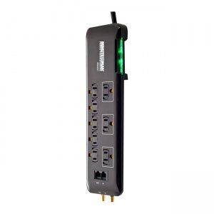 Minuteman MMS686SCT 8-Outlet Slimline Surge Suppressor []
