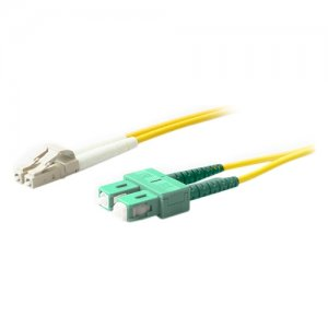 AddOn ADD-ASC-LC-10M9SMF 10m SMF 9/125 Duplex (APC-SC/LC) ASC/LC OS1 Yellow LSZH Patch Cable
