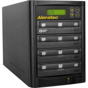 Aleratec 260180 1:3 DVD CD Copy Tower Stand-Alone Duplicator
