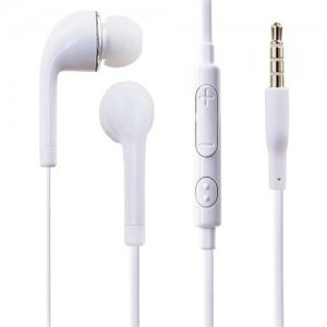 4XEM 4XSAMEARWH Earbud Earphones For Samsung Galaxy/Tab (White)
