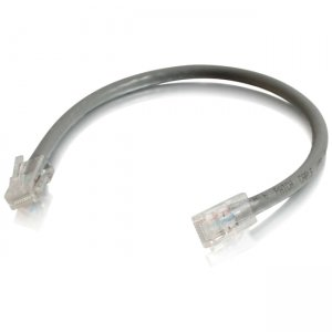 C2G 00961 6in Cat6 Non-Booted Unshielded (UTP) Network Patch Cable - Gray
