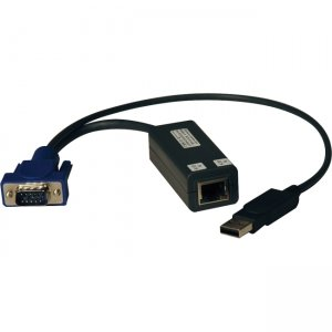 Tripp Lite B078-101-USB-1 KVM Switch Accessories - NetCommander USB Server Interface Unit (SIU)