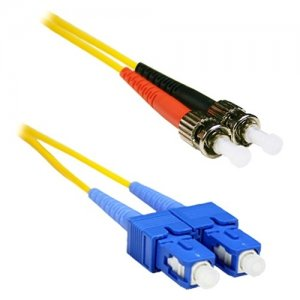ENET SCST-SM-1M-ENC Fiber Optic Duplex Patch Network Cable