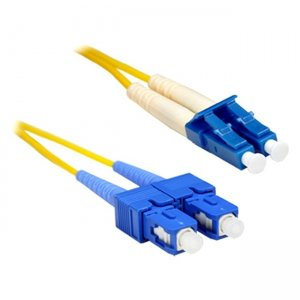 ENET CAB-SMF-SC-25ENC 25 Foot LC-SC Single-Mode Fiber Cable