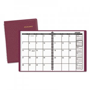 At-A-Glance AAG7012050 Monthly Planner, 6 7/8 x 8 3/4, Winestone, 2016 70-120-50