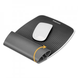 Fellowes 9311801 I-Spire Wrist Rocker Mouse Pad w/Wrist Rest, 7 7/8 x 10 1/16 x 1