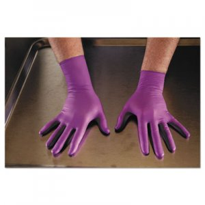 Kimberly-Clark KCC50603 PURPLE NITRILE Exam Gloves, 310 mm Length, Large, Purple, 500/CT
