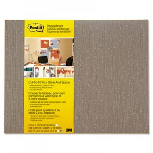 Post-it MMM558FMCH Cut-to-Fit Display Board, 18 x 23, Mocha, Frameless