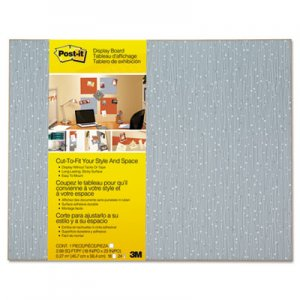 Post-it MMM558FICE Cut-to-Fit Display Board, 18 x 23, Ice, Frameless