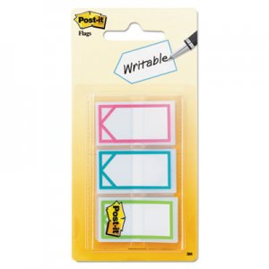 "Post-it Flags MMM682ARROW Arrow 1"" Page Flags, Three Assorted Bright Colors, 60/Pack"