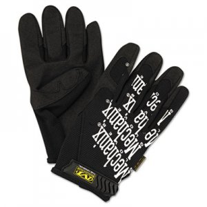 Mechanix Wear MNXMG05011 The Original Work Gloves, Black, X-Large