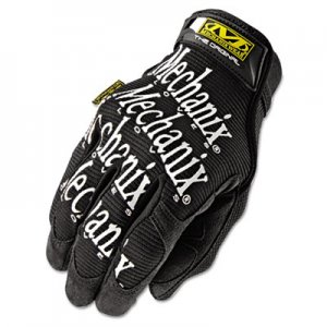 Mechanix Wear MNXMG05010 The Original Work Gloves, Black, Large