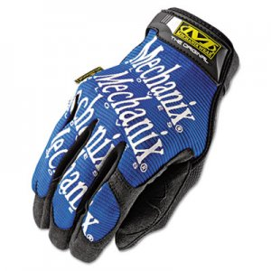 Mechanix Wear MG03010 The Original Work Gloves, Blue/Black, Large MNXMG03010