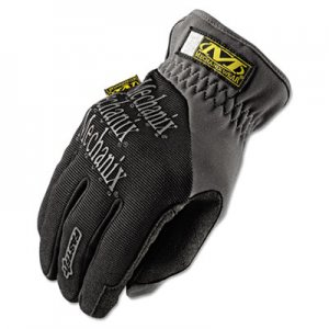 Mechanix Wear MNXMFF05011 FastFit Work Gloves, Black, X-Large