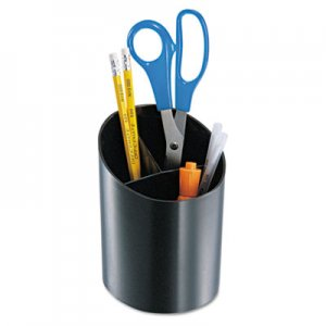 Officemate OIC26042 Recycled Big Pencil Cup, 4 1/4 x 4 1/2 x 5 3/4, Black