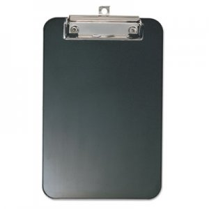 "Officemate OIC83002 Plastic Memo Clipboard, 1/2"" Capacity, 6 x 9, Black"