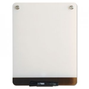 Iceberg ICE31120 Clarity Glass Personal Dry Erase Boards, Ultra-White Backing, 12 x 16
