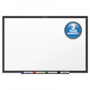 Quartet QRTS537B Classic Series Melamine Dry Erase Board, 72 x 48, White Surface, Black Frame