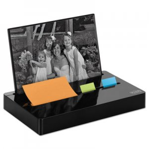 Post-it Pop-up Notes Super Sticky MMMPH100BK Pop-up Note/Flag Dispenser Plus Photo Frame with 3 x 3