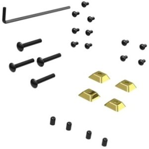 Peerless ACC954 Security Kit for PTM200 and PTM400 series Fasteners for bolting to desktop surfa