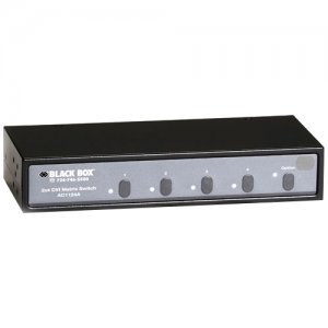 Black Box AC1124A 2x4 DVI Matrix Switch With Audio