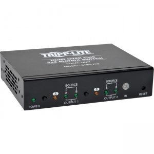 Tripp Lite B126-2X2 HDMI over Cat5 / Cat6 2X2 Matrix Switch
