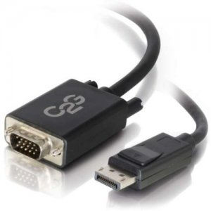 C2G 54331 3ft DisplayPort Male to VGA Male Adapter Cable - Black