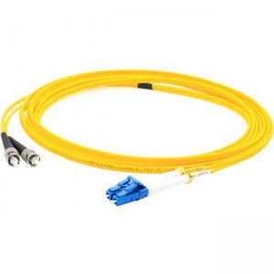 AddOn ADD-ST-LC-2MS9SMF 2m Single-Mode Fiber (SMF) Simplex ST/LC OS1 Yellow Patch Cable