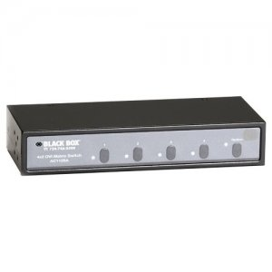 Black Box AC1125A 4x2 DVI Matrix Switch with Audio and RS-232 Control