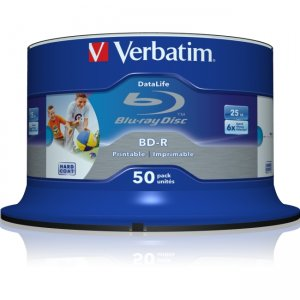 Verbatim 98485 6x 25GB Blu-ray Recordable Media