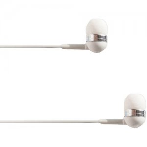 4XEM 4XIBUDWH Ear Bud Headphone White